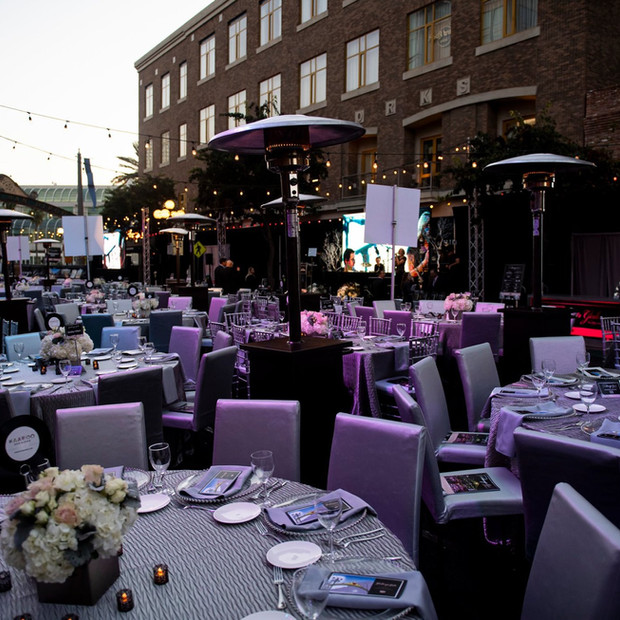 Gaslamp Gala Table Setting Day