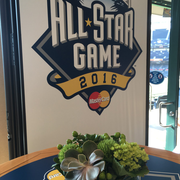 All-Star Game Wall Decal Branding