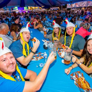 Oktoberfest Chicken Hat VIPs
