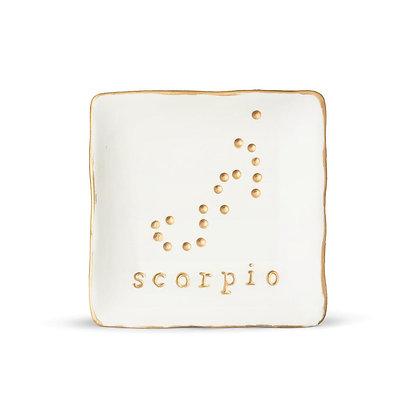 Zodiac Ceramic Soap Dish : Scorpio