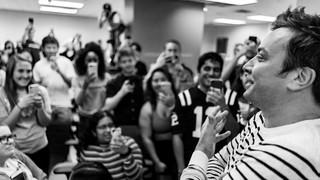 Jimmy Fallon at UT Austin Event Photographer