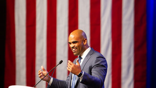 Collin Allred in Fort Worth Texas Democratic Convention - Top Event Photographers Kidus Solomon Photography