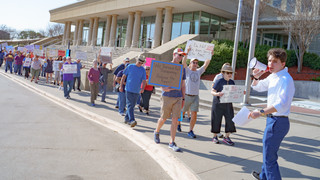 Anti-Trump Robert Mueller Protests Mckinney Texas Collin County Courthouse Event Photographers near me