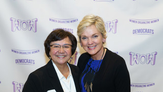 Lupe Valdez and Governor Jennifer Granholm - Event Photographer Collin County Kidus Solomon Photography