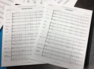 Nouvelles compositions 2020 pour harmonies scolaires débutantes