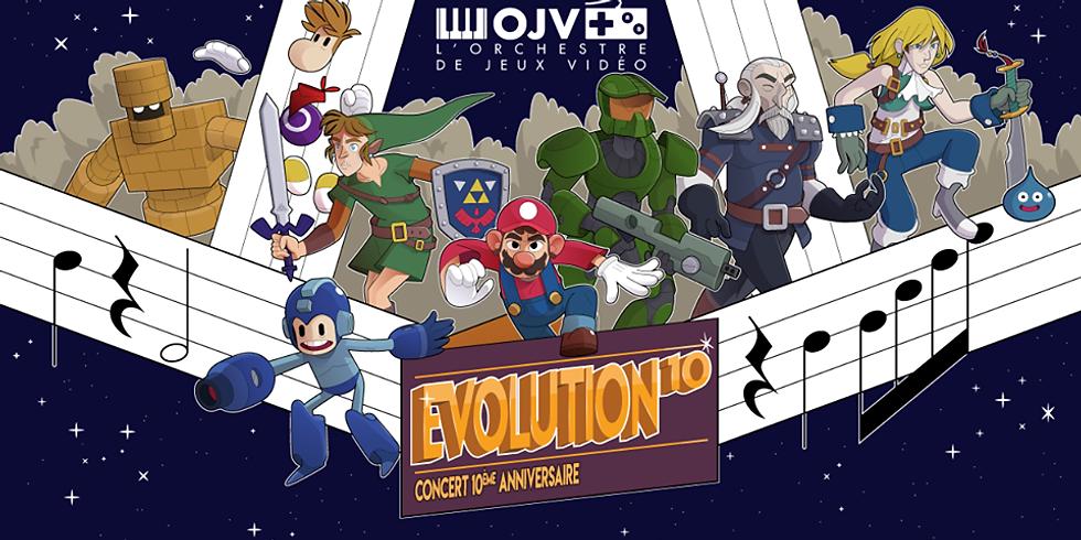 Évolution 10 (Montréal) de l'Orchestre de Jeux Vidéo (OJV)