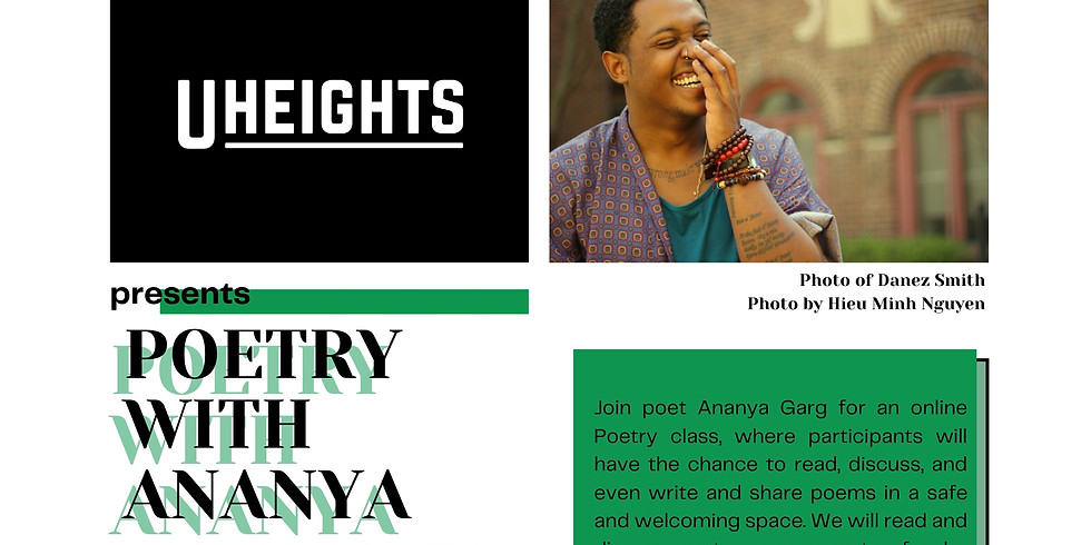 Finding Your Poetic Voice: Community Poetry with Ananya
