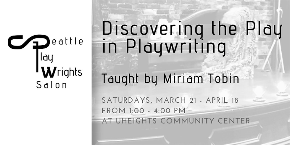 Discovering the Play in Playwriting