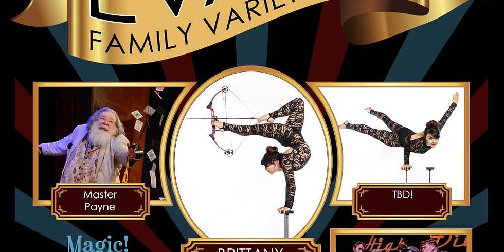 Evan's Family Variety Show - November