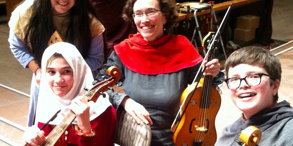 All ages concert: Medieval Music for everyone