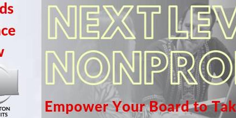 Next Level Nonprofit - Part 3 - Let's Go Legal
