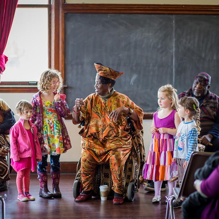 Storytelling with Kibibi Monie