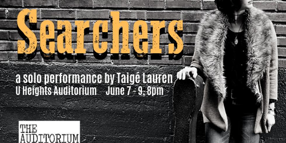 Searchers (a solo performance by Taigé Lauren)