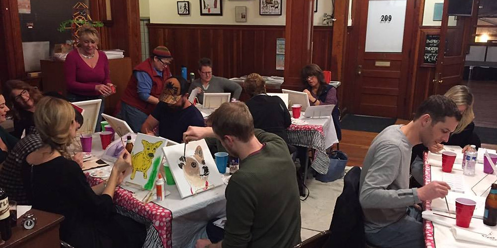 PawsWithCause presents: Sip n' Paint!