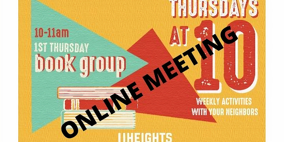 Thursdays at 10 - Book Club