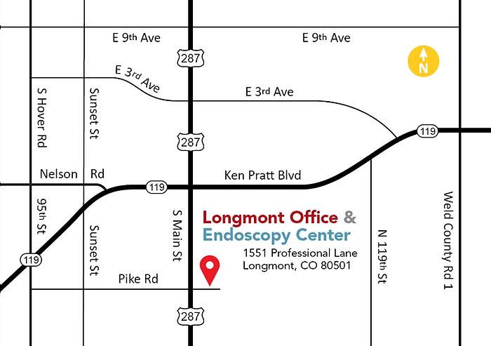 Longmont Map