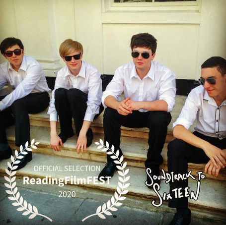 Soundtrack to Sixteen selected for Reading Film Festival