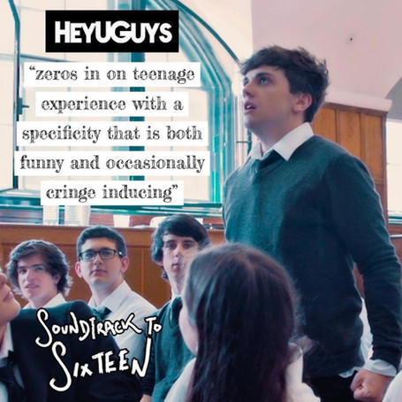 HeyuGuys Review of Soundtrack to Sixteen