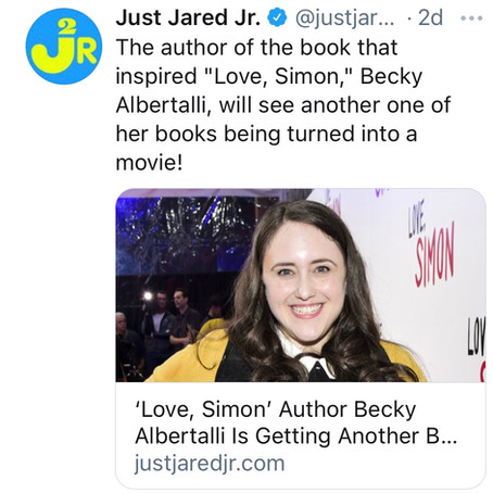 'Love Simon' Author is Getting Another Book to Screen Adaptation
