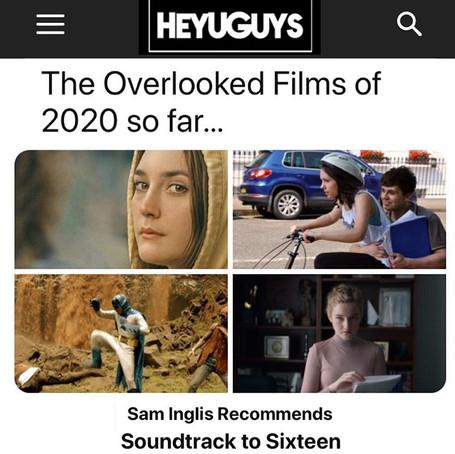 HeyUGuys - Soundtrack to Sixteen Featured