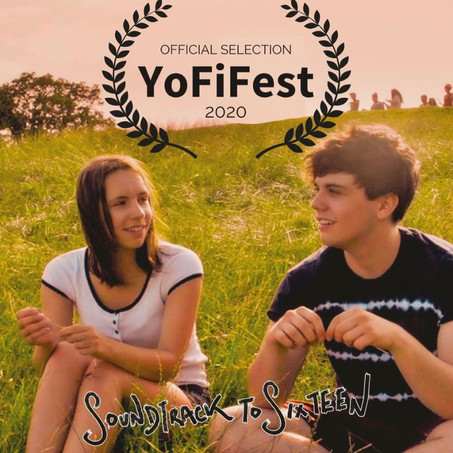 Soundtrack to Sixteen selected for YoFi Film Festival