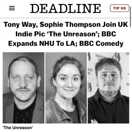 Tony Way and Sophie Thompson join The Unreason