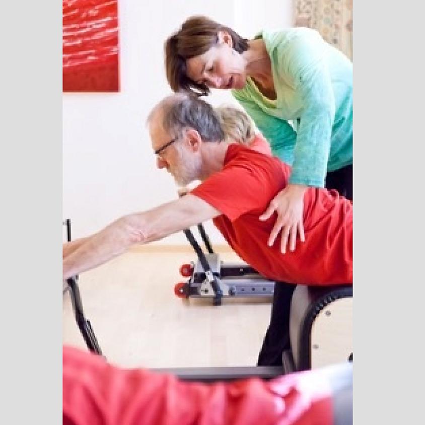 Aktiv Älter werden mit Pilates Training Weiterbildung BASI Pilates