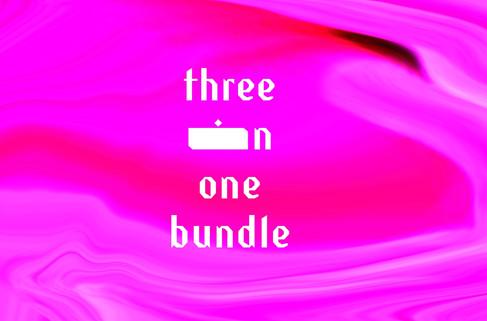 THREE IN ONE BUNDLE -  £25