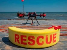 Использование дрона для поиска и спасания на воде