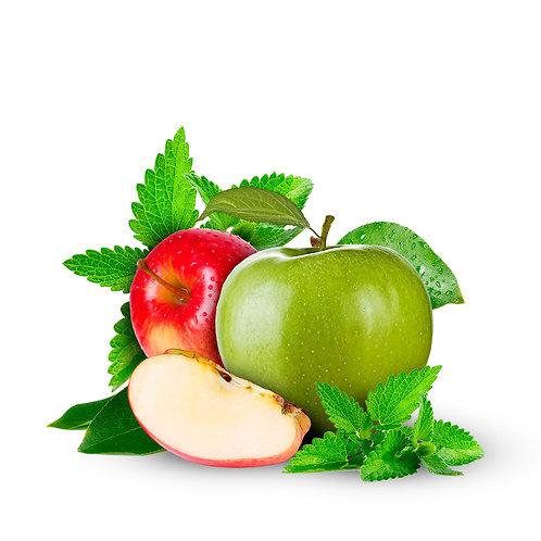 Dos manzanas Menta