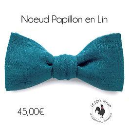 noeud-papillon-bleu-canard-lin-lecoqenpa