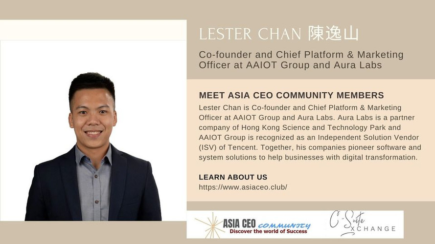 Co-founder and Chief Platform & Marketing Officer
