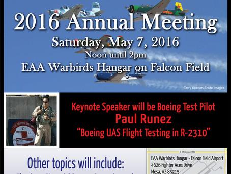 Arizona Pilots Association Annual Event 2016