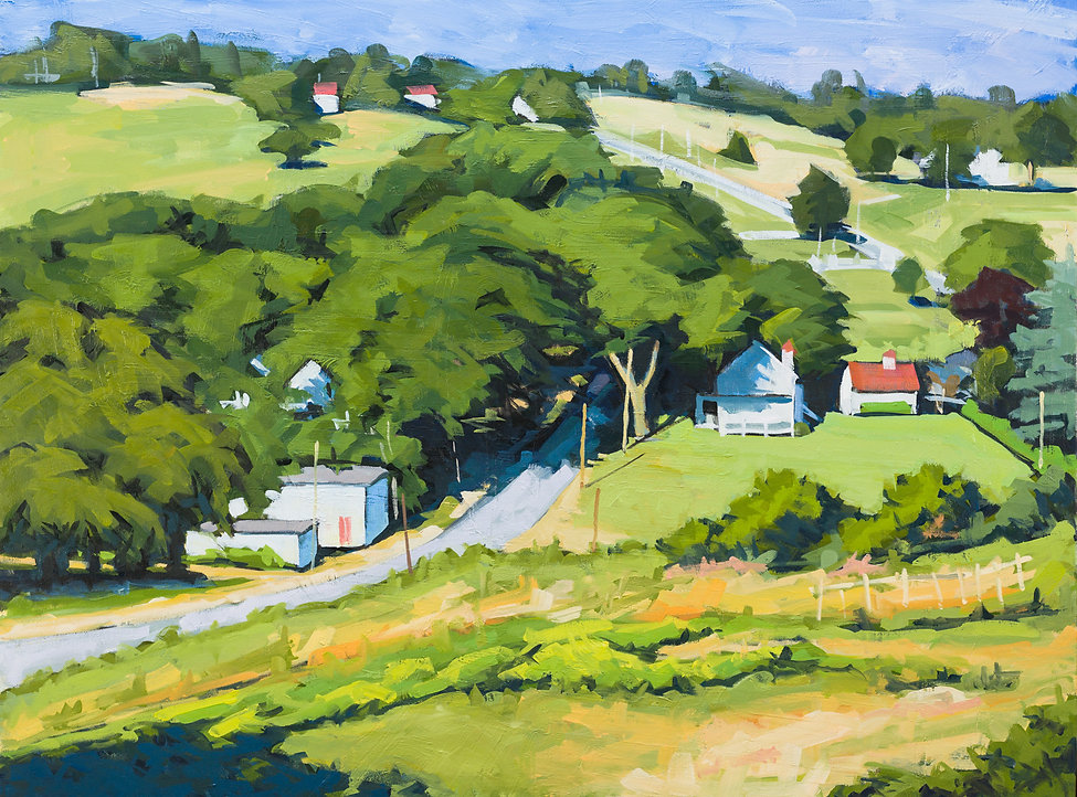 Oil Painting of Digby Neck