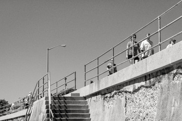 Along the Sea Wall