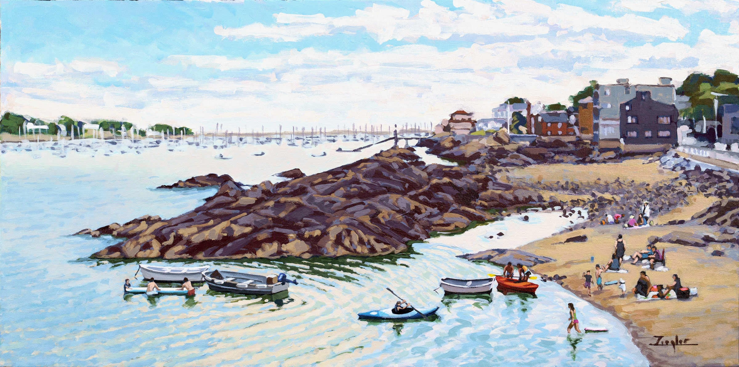 Fort Beach, Marblehead