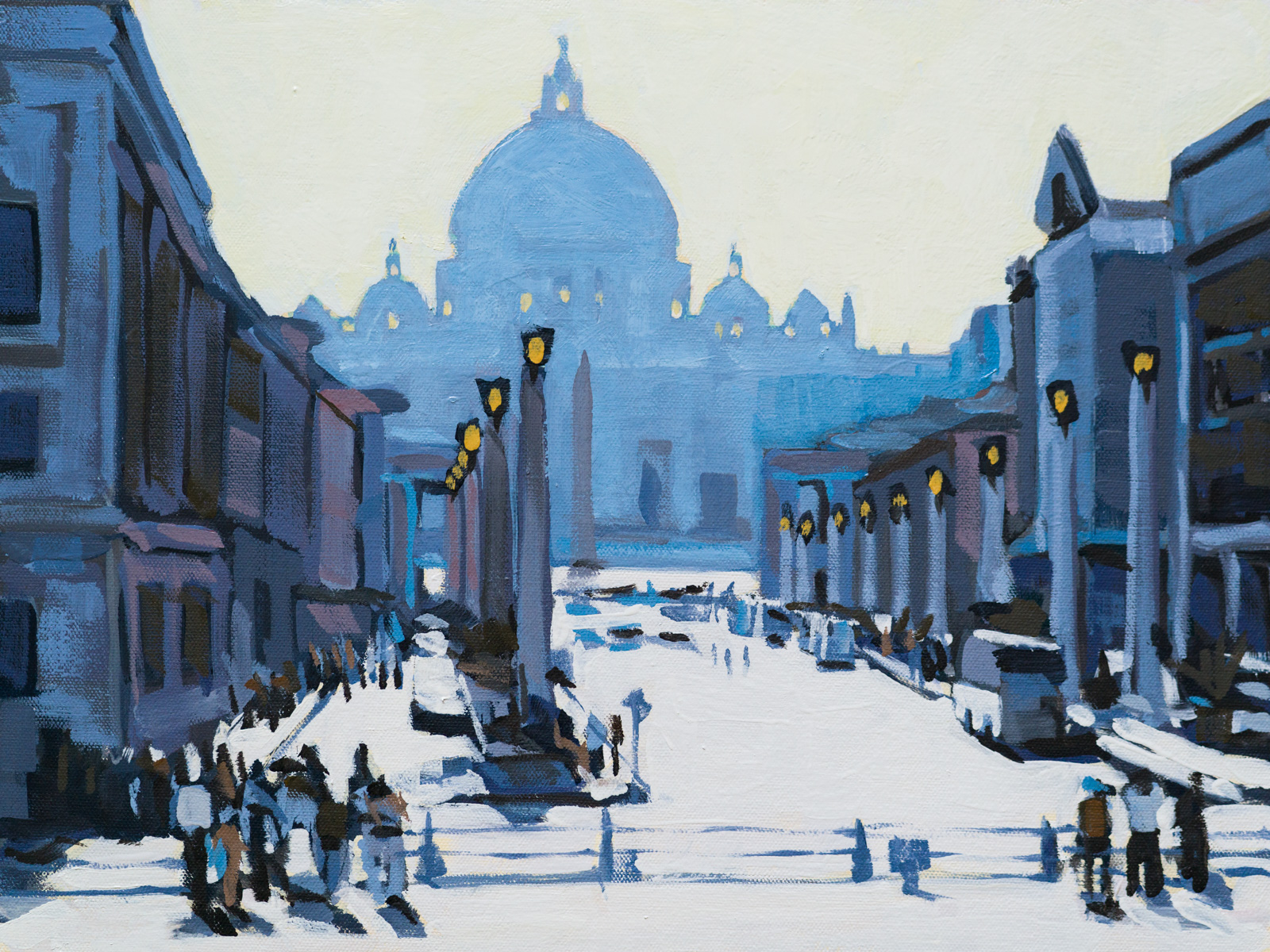 Toward Saint Peter's Square