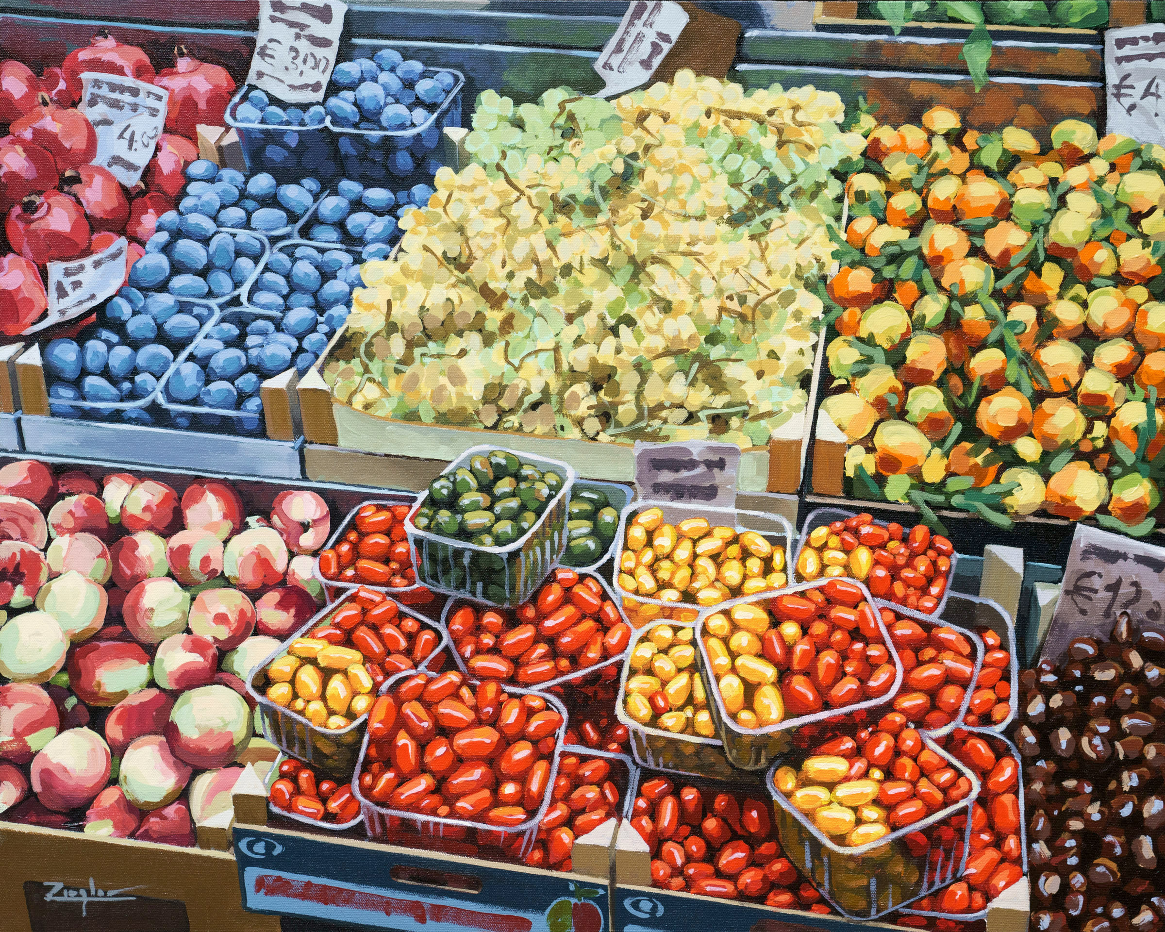 Bologna Fruit Market