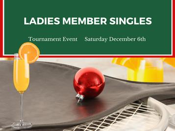 Ladies Member Singles