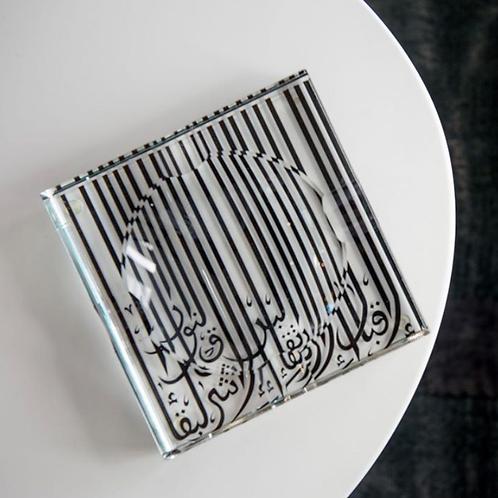 Crystal Decorative Tray