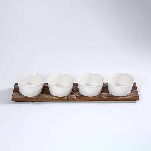 Bowl with Tray