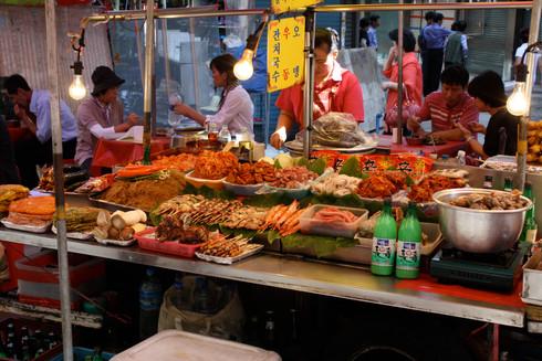 Eating North Korean in Beijing