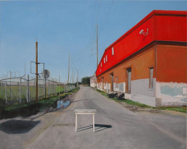 """Urban Landscape:  Negotiating"""