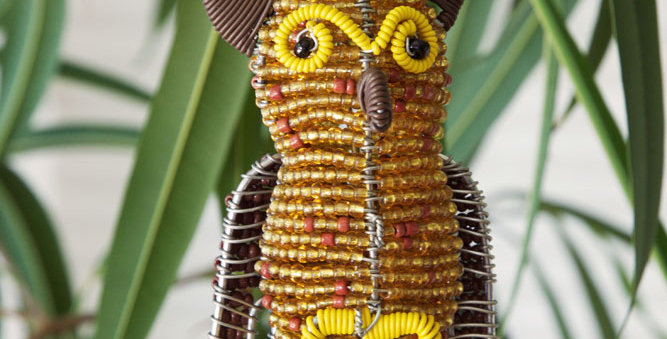 Hand-beaded Ornament Animals