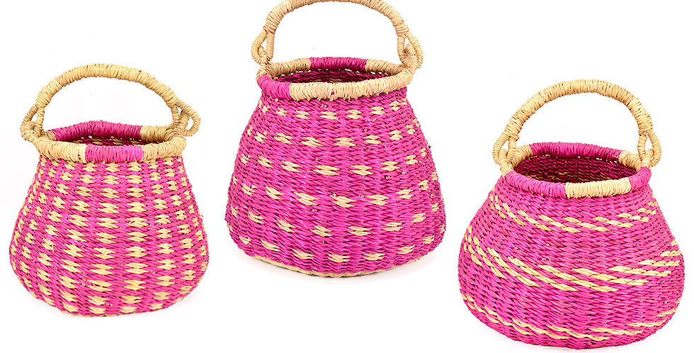 Easter Pear Bolga Baskets