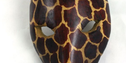 8 inch Animal Wall Mask