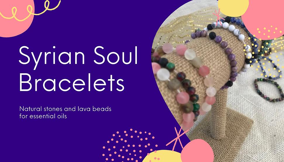 Syrian Soul Bracelets Business Card Side