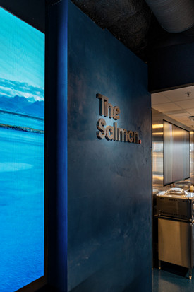 The Salmon, mikrosement fin fra Dekorhus