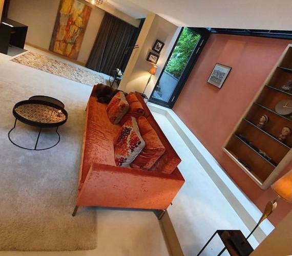 Mikrosement i stue