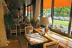 Озеленение ресторана
